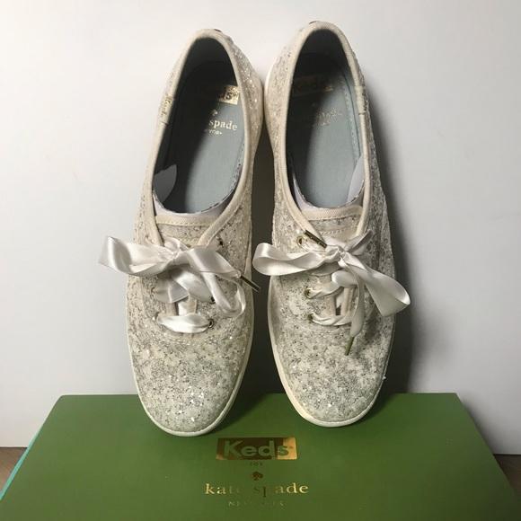 9cc6e8e2fae93 Keds Kate Spade NY Champion Glitter Sneaker NEW